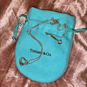 Tiffany's Small Heart Necklace